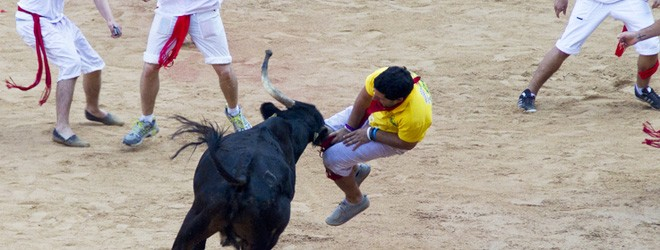 Gored by his own bull