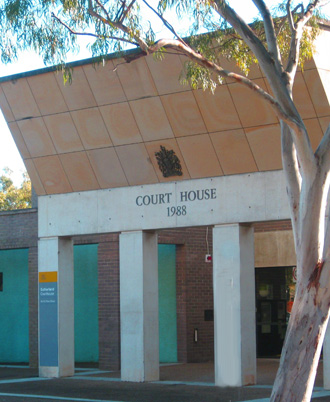 Sutherland Local Court where Sam Cohen was convicted for negligent driving.