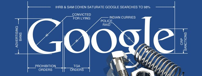 98% Google saturation for The Cohen Campaign