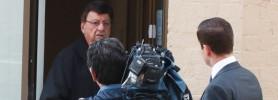 Sam Cohen's doorstop interview
